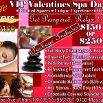 2015 Valentines Spa Day Package